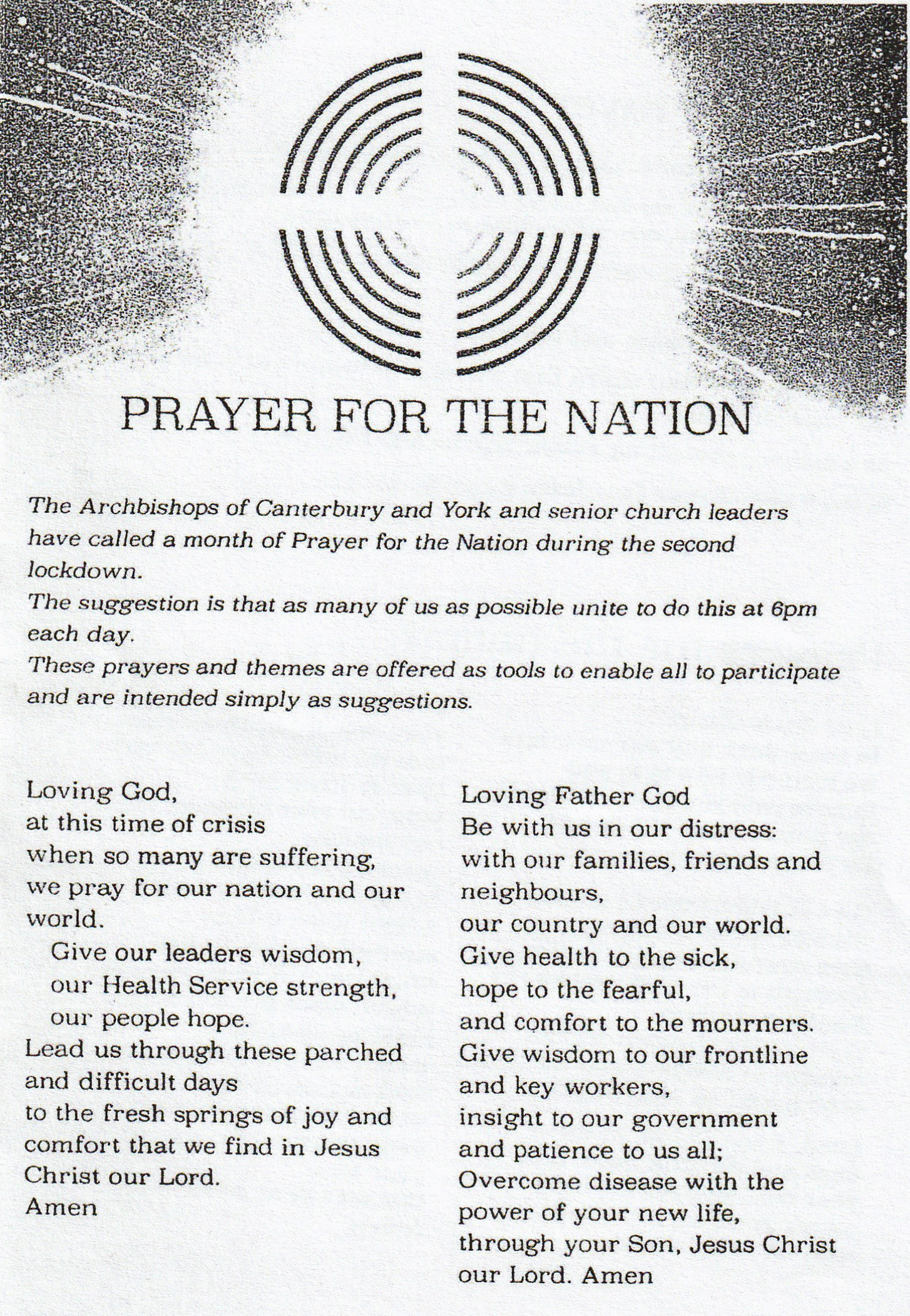 161120 Prayer for the Nation p1