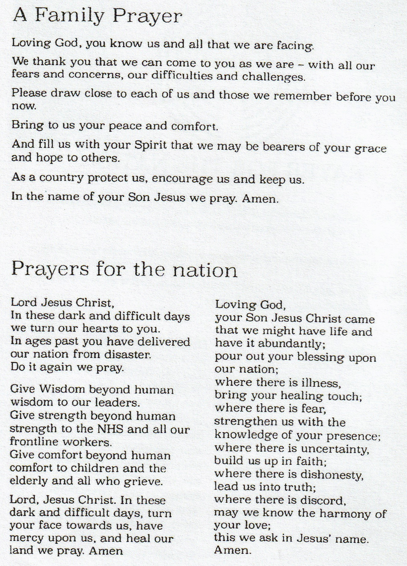 161120 Prayer for the Nation p2