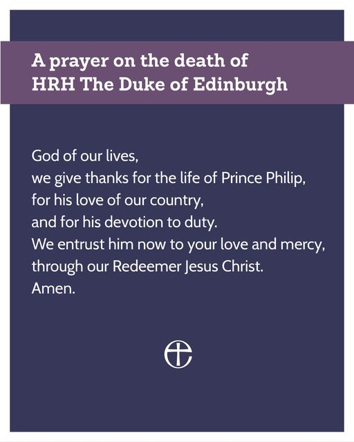 Prayer for Prince Philip